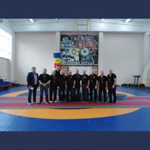 Campionatul Republicii Moldova la lupte libere, rezervat seniorilor