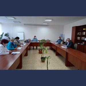 Ședința comisiei pentru acordarea suportului monetar