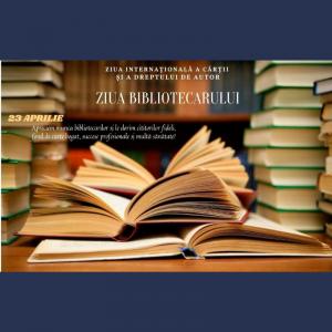 23 aprilie – Ziua internațională a cărții și a dreptului de autor