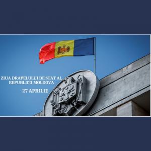 Ziua Drapelului de Stat al Republicii Moldova, simbolul oficial al ţării noastre