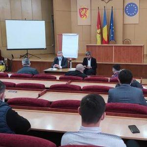 Ședința de lucru cu primarii și specialiștii în domeniul sportului din raionul Cimișlia