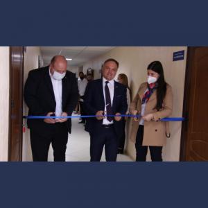 Deschiderea oficială a camerei specializate de audiere a participanților procesului penal cu înregistrarea audio-video, în incinta Procuraturii raionului Cimișlia
