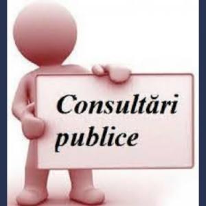 ANUNŢ privind organizarea consultării publice a proiectului de decizie